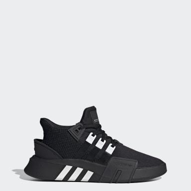 черный Высокие кроссовки EQT Bask ADV