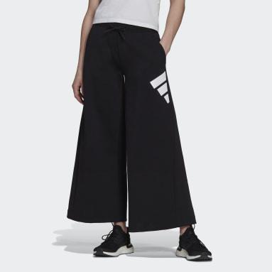 черный Брюки adidas Sportswear Future Icons Wide