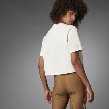 Women Originals White Blue Version Essentials T-Shirt