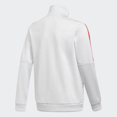Youth Originals Grey Adicolor Track Jacket