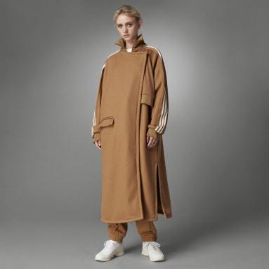 коричневый Пальто Blue Version
