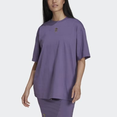 Dames Originals Paars T-shirt