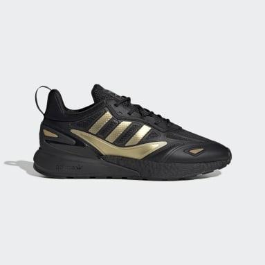 Men Originals Black ZX 2K Boost 2.0 Shoes