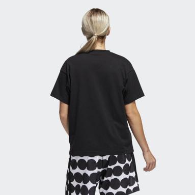 T-shirt Marimekko (Neutral) Nero Basket