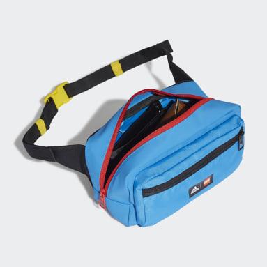 เด็ก เทรนนิง สีน้ำเงิน กระเป๋าคาดเอว adidas x Classic LEGO®