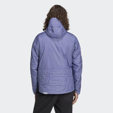 Veste Terrex MYSHELTER Primaloft Hooded Padded Violet Hommes TERREX