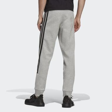 Men Sportswear Grey adidas Sportswear Future Icons 3-Stripes Pants