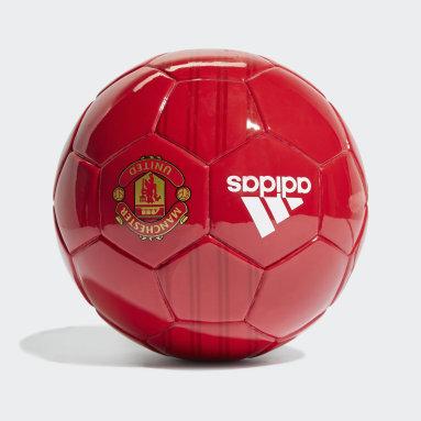 Mini Ballon Domicile Manchester United Rouge Football