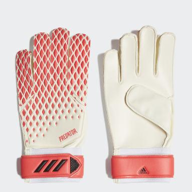 Football White Predator 20 Training Gloves