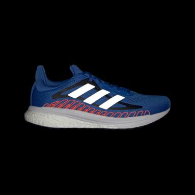 Men Running Blue SolarGlide ST Shoes