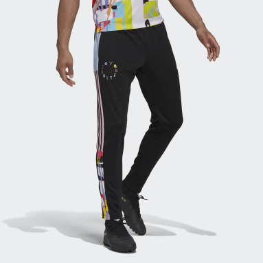 Fotbal černá Sportovní kalhoty adidas Love Unites Tiro