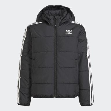 Youth 8-16 Years Originals Black Adicolor Jacket