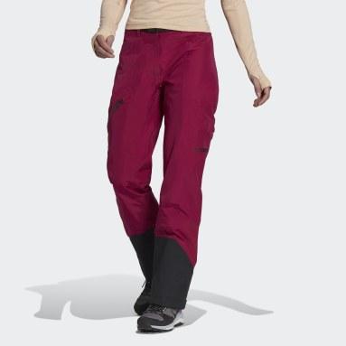 Women TERREX Burgundy Terrex Techrock Gore-Tex Pro Pants
