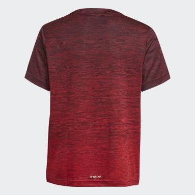 T-shirt AEROREADY Gradient Blu Ragazzo Fitness & Training