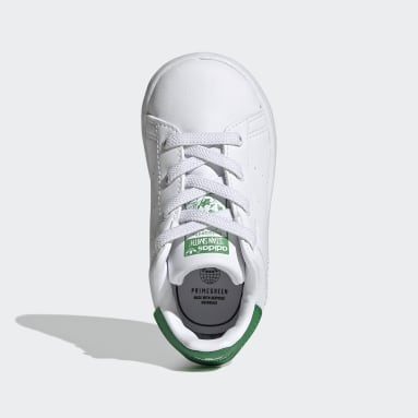 Barn Originals Vit Stan Smith Shoes