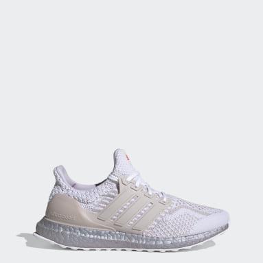 Women Running White Ultraboost 5.0 DNA Shoes
