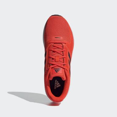 Tenis Run Falcon 2.0 Naranja Hombre Running
