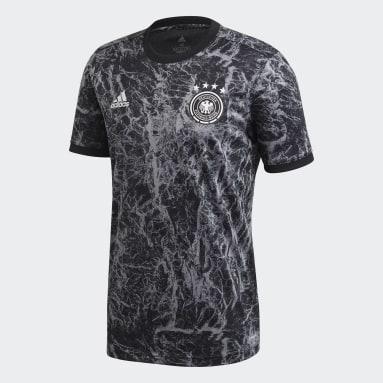 Camisa Pré-Jogo Alemanha Preto Homem Futebol