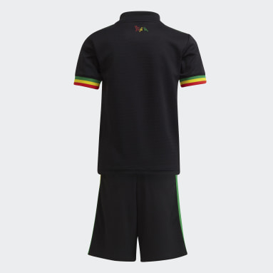 Kinderen Voetbal zwart Ajax Amsterdam 21/22 Derde Mini-Tenue