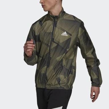 Men Sportswear Multicolour adidas Sportswear Graphic Track Top