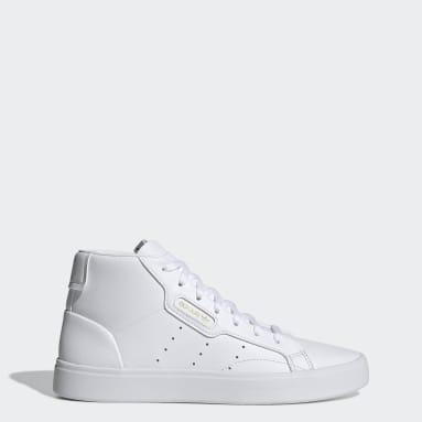 Scarpe adidas Sleek Mid Bianco Donna Originals