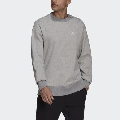 Men's Sportswear Grey adidas Sportswear Comfy & Chill Sweatshirt