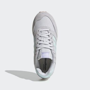 Zapatillas Run 80s Plomo Mujer Diseño Deportivo