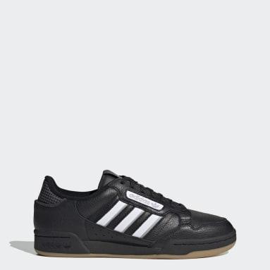 Men Originals Black Continental 80 Stripes Shoes