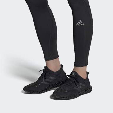 Běh černá Boty adidas 4D Futurecraft
