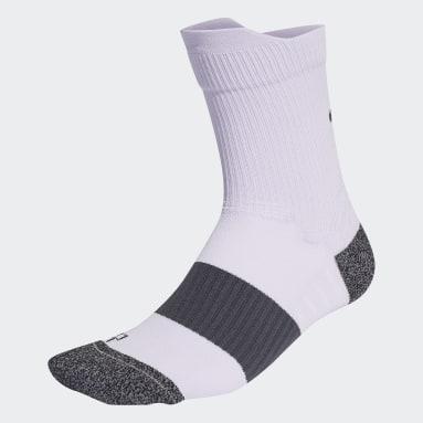 Hardlopen paars Running Ultralichte Performance Sokken