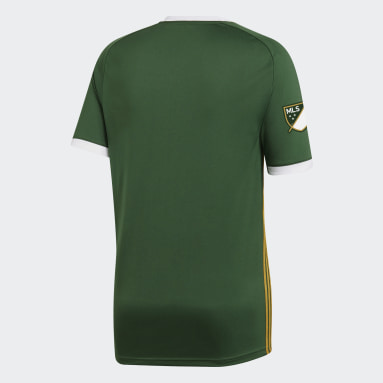 Maillot Portland Timbers Domicile Vert Hommes Football