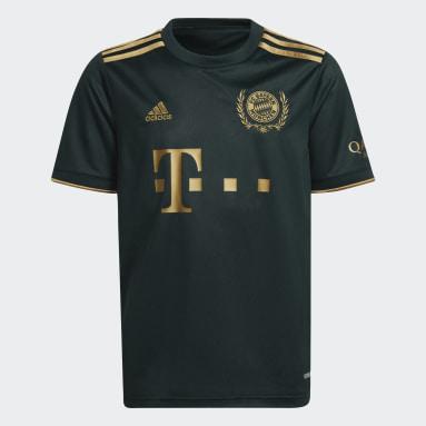 Børn Fodbold Grøn FC Bayern 21/22 Wiesn fodboldtrøje