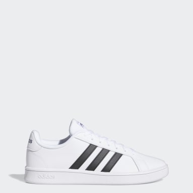 Sport Inspired White Grand Court Base Shoes