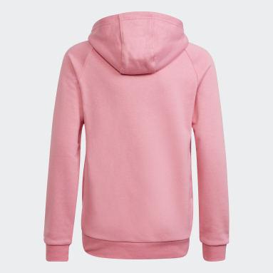 розовый Худи Adicolor