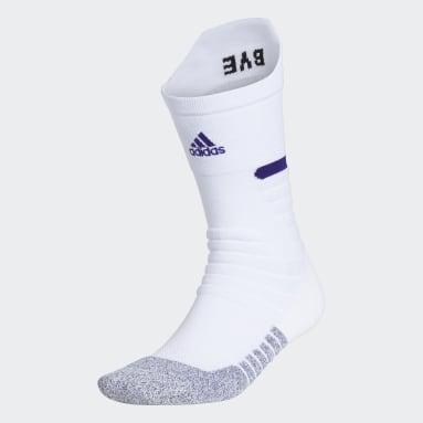 Training White Adizero Football Cushioned Crew Socks