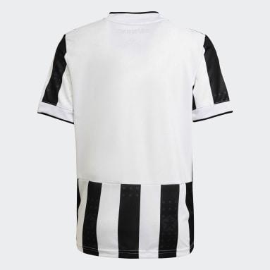 เด็กผู้ชาย ฟุตบอล สีขาว เสื้อฟุตบอลชุดเหย้า Juventus 21/22