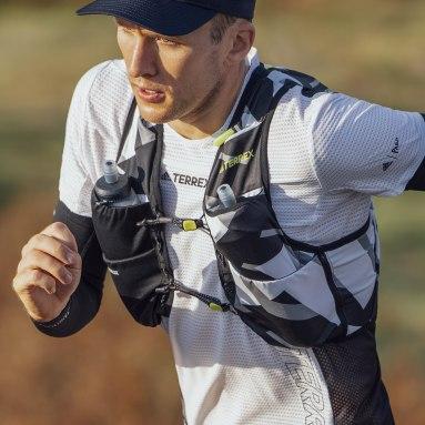 TERREX Zwart Terrex Primeblue Graphic Trail Running Bodywarmer