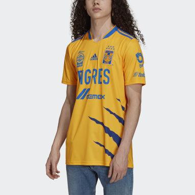 Jersey Local Tigres UANL 21/22 Amarillo Hombre Fútbol