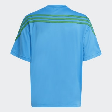 T-shirt adidas x Classic LEGO® Blu Bambini Fitness & Training