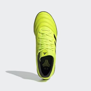 Calzado de Fútbol Copa 19.3 Césped Artificial Amarillo Hombre Fútbol