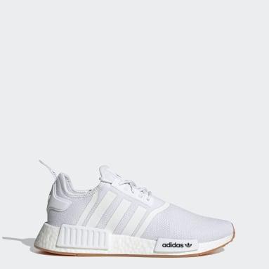 Originals White NMD_R1 Primeblue Shoes