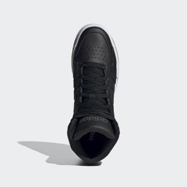 Heren Sportswear Zwart Entrap Mid Schoenen