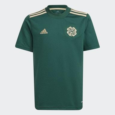 Kids Football Green Celtic FC 21/22 Away Jersey