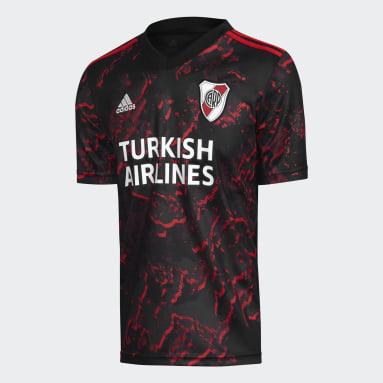 Camiseta Visitante River Plate 21/22 Negro Niño Fútbol