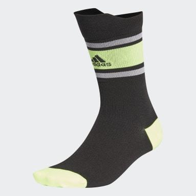 Training Black Alphaskin Ultralight Performance Crew Socks