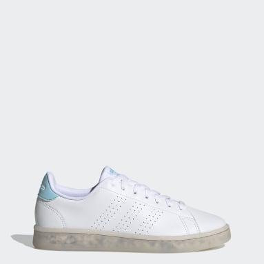 Women's Sport Inspired White Advantage Eco Shoes