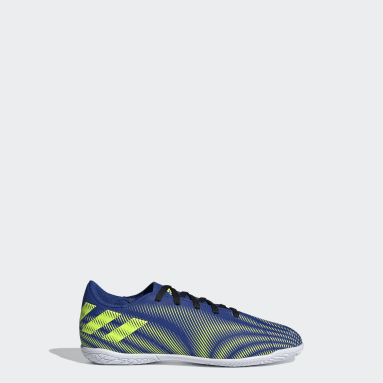 Boys Futsal Blue Nemeziz.4 Indoor Boots