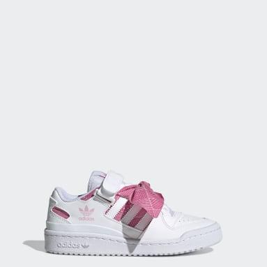 Chaussure Forum Low Blanc Enfants Originals