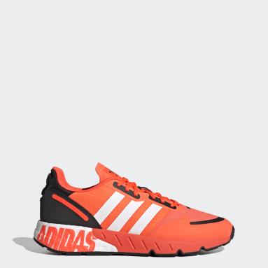 Men's Originals Orange ZX 1K Boost Shoes