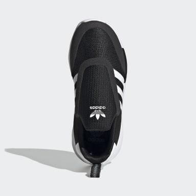 Children Originals Black ZX 360 Shoes